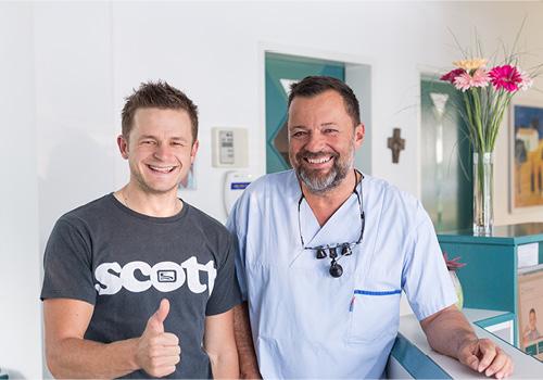Dr. Andreas Wutsch und Daniel Federspiel